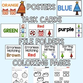 Winter Themed Color Bundle