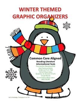 Winter Themed Common Core Graphic Organizers
