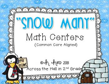 Winter-Themed Common Core Math Centers
