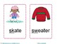 Winter Consonant Cluster and Digraph Flash Cards