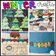 Winter Themed Crafts for Preschool and Kindergarten with Visual Directions