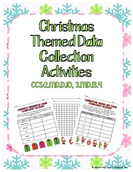Winter Themed Data Collection Activities