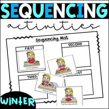 Winter Themed Differentiated Centers/Activities for Sequencing