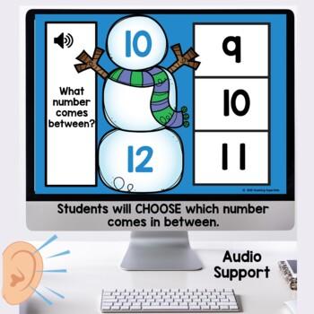 Winter Themed Digital Task Cards Boom