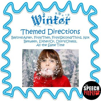 Winter Themed Directions