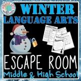 Winter Themed ELA ESCAPE ROOM