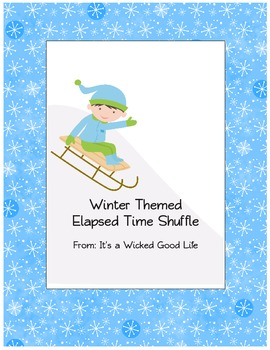 Winter Themed Elapsed Time Shuffle