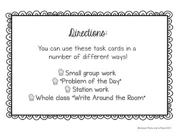 Winter-Themed Elapsed Time Word Problem Task Cards