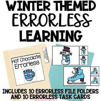 Winter Themed Errorless Activities
