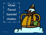 Winter Themed Expanded Notation Task Cards