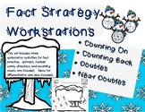 Winter Themed Fact Fluency Workstations