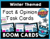 Winter Themed Fact and Opinion BOOM Task Cards