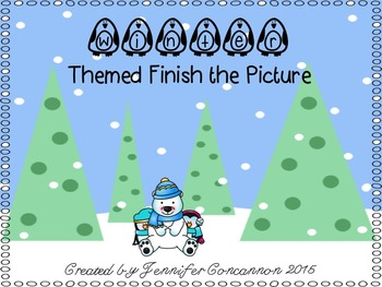 Winter Themed Finish the Picture