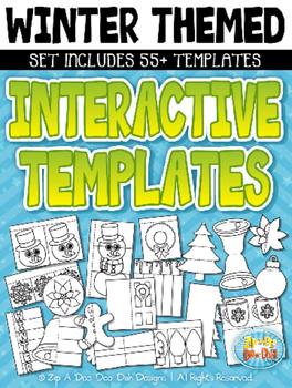 Winter Flippable Interactive Templates {Zip-A-Dee-Doo-Dah Designs}