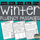 Winter Themed Fluency Passages