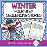 Winter Themed Four Step Sequencing Stories