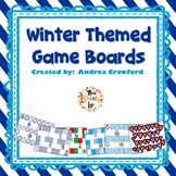 Winter Themed Game boards