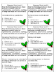 Winter Themed Grammar Scoot Review Game