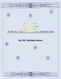 Winter Themed Grammar Unit for ESL