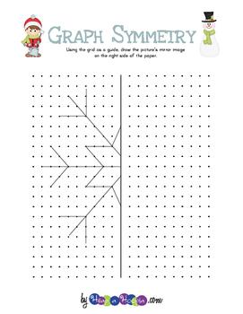 Winter Themed Graph Symmetry
