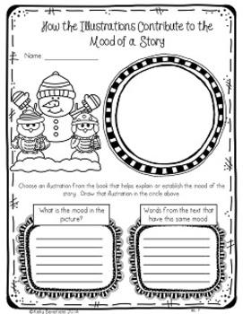 Common Core: Winter Themed Graphic Organizers