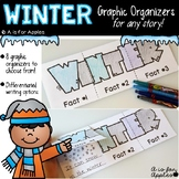 Winter Graphic Organizers {For Any Winter Story!}