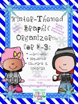 Winter-Themed Graphic Organizers for K-3