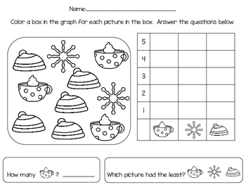 Winter Themed Graphing