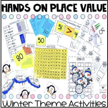 Winter Themed Hands On Place Value Activities
