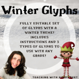 Winter Themed Holiday Glyphs