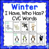 Winter CVC Word Family Games