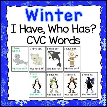 winter activities cvc games by herding kats in kindergarten tpt. Black Bedroom Furniture Sets. Home Design Ideas