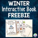 Winter Themed Interactive Book - FREEBIE!