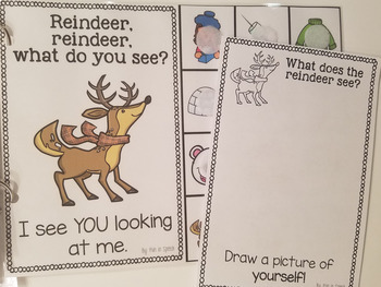Winter Themed Interactive Book - FREEBIE!