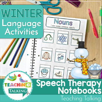 Winter Language Activities for Notebooks