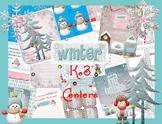Winter Themed K-3 Centers