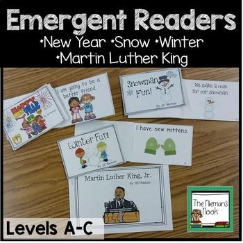 Emergent Readers Set #4- Winter!