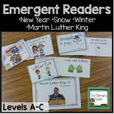 Winter Emergent Readers Set