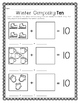 Winter Themed Kindergarten Math Printables