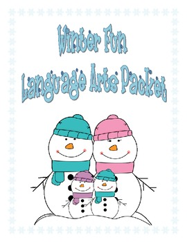 Winter Themed Langague Arts Packet