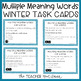 Winter Themed Language Task Cards Bundle for 3rd - 5th Grade