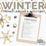 Winter Themed Lessons & Activities for Older Students [dig