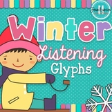 Winter Themed Listening Glyphs