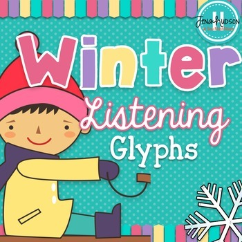 Winter Themed Listening Glyphs