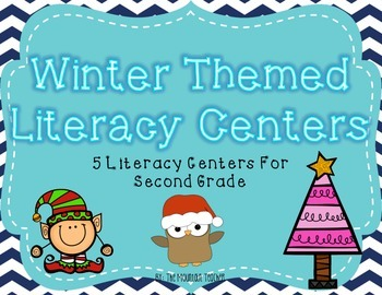Winter Themed Literacy Centers for Second Grade