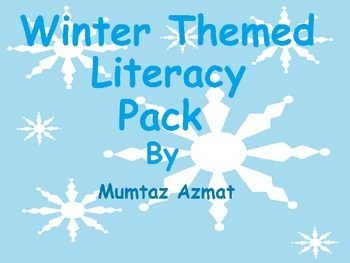 Winter Themed Literacy Pack: