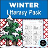Winter Literacy Activities and Worksheets for Preschool and Kindergarten