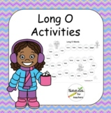 Winter Themed Long O Packet