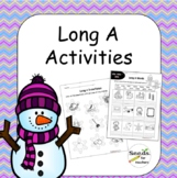 Winter Themed Long A Packet