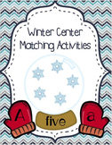 Winter Themed Matching Activities - January